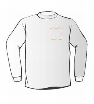Budget Sweaters met borstopdruk