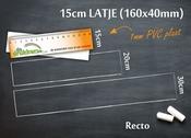 Meetlat 15cm R