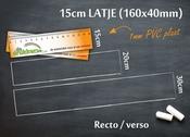 Meetlat 15cm RV