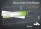 Meetlat 20cm R