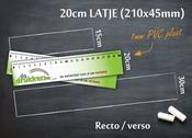 Meetlat 20cm RV