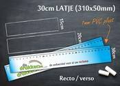 Meetlat 30cm RV